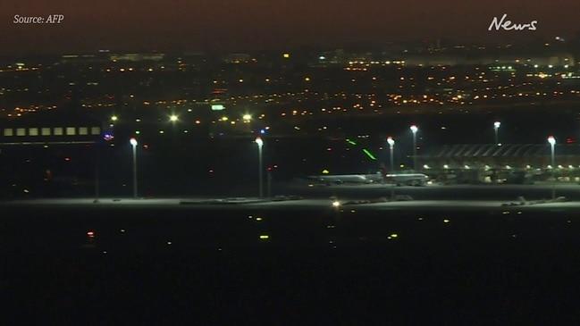 Air Canada plane emergency landing in Madrid