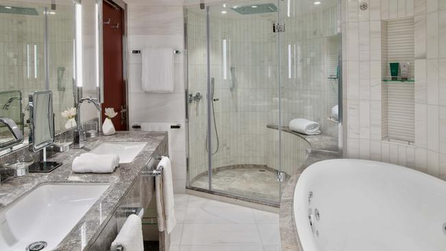 Room to move: suites have bigger bathrooms than your average apartment