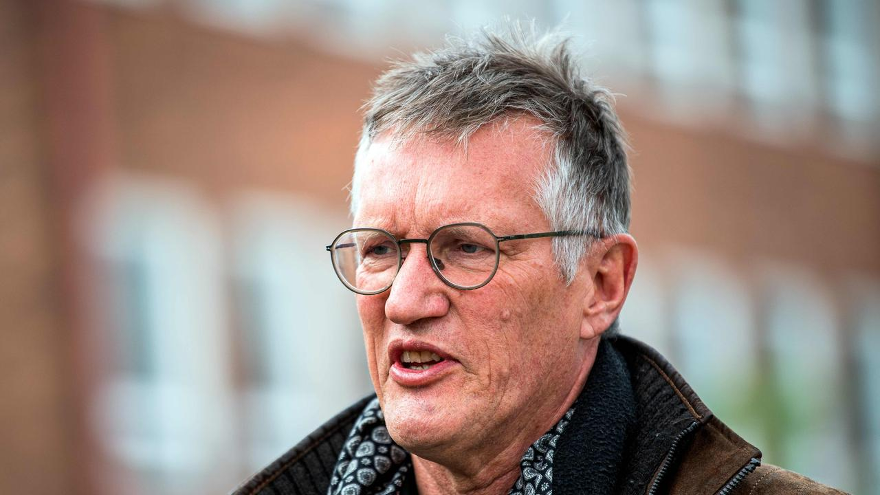 Epidemiologist Anders Tegnell of the Public Health Agency of Sweden has defended the country's approach. Picture: AFP