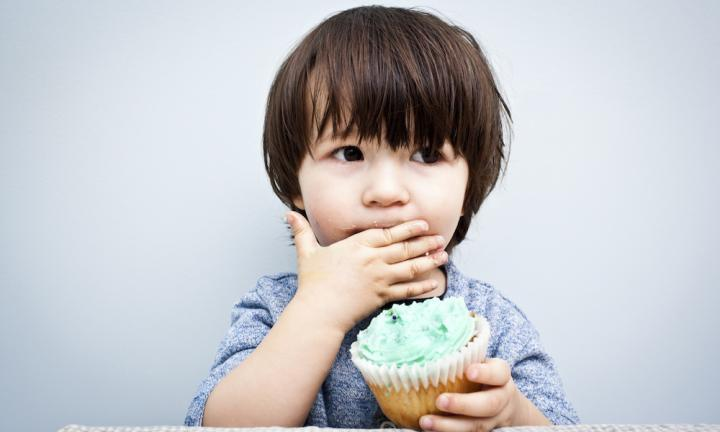 <b>MINIMISE SNACKS BETWEEN MEALS</b> <p> Here's the thing - if you want your tot to eat their dinner, don't allow them to fill up on less nutritious foods beforehand. The chances of your child eating their lunch after consuming a cupcake and two Freddo Frogs at the park? Literally zero. <i>Source: iStock </i></p>