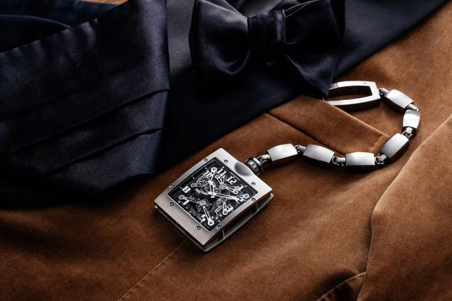 Richard Mille S First Pocket Watch Is A Modern Take On A Classic Archetype Gq