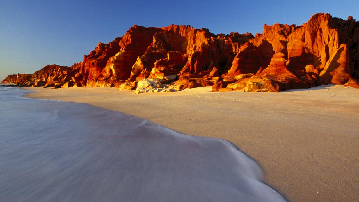 CAPE LEVEQUE, W.A. .. for Sophie Elsworth story .. Red Cliffs. Picture: Nigel Gaunt / Red Dirt Photography
