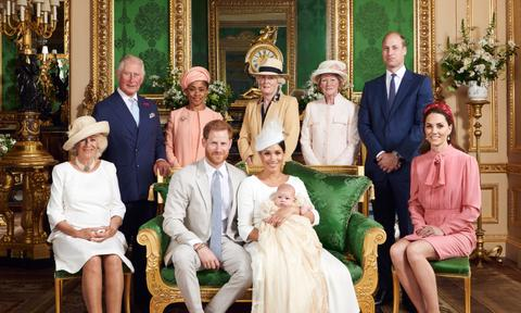 We love a formal family photo and this one of Harry, Meghan, and Archie with the extended family was a winner. Even Meghan's mum Doria made the cut for the traditional royal snap. Just lovely. Image: Instagram