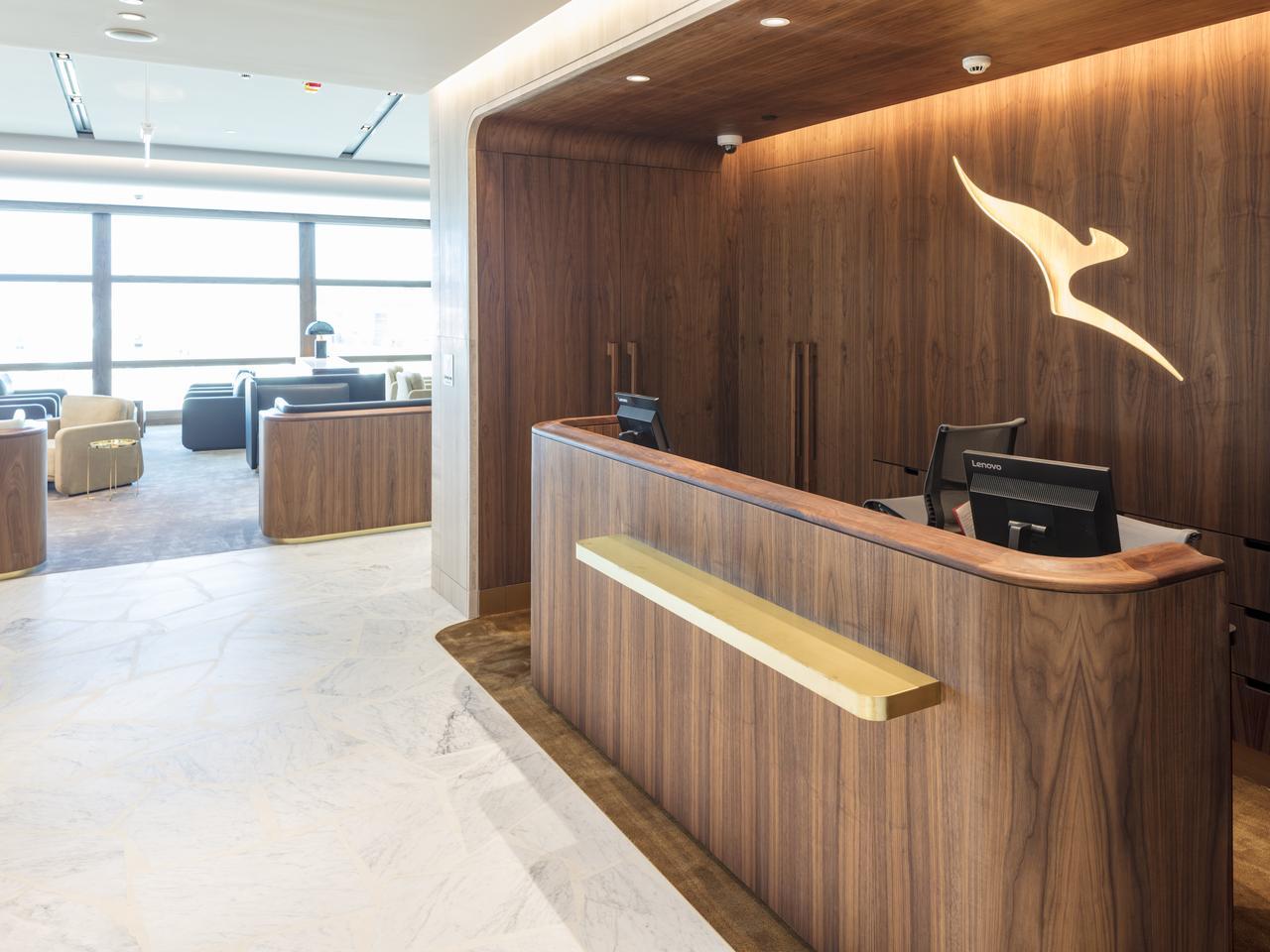 Qantas Chairmans Lounge Brisbane Escape