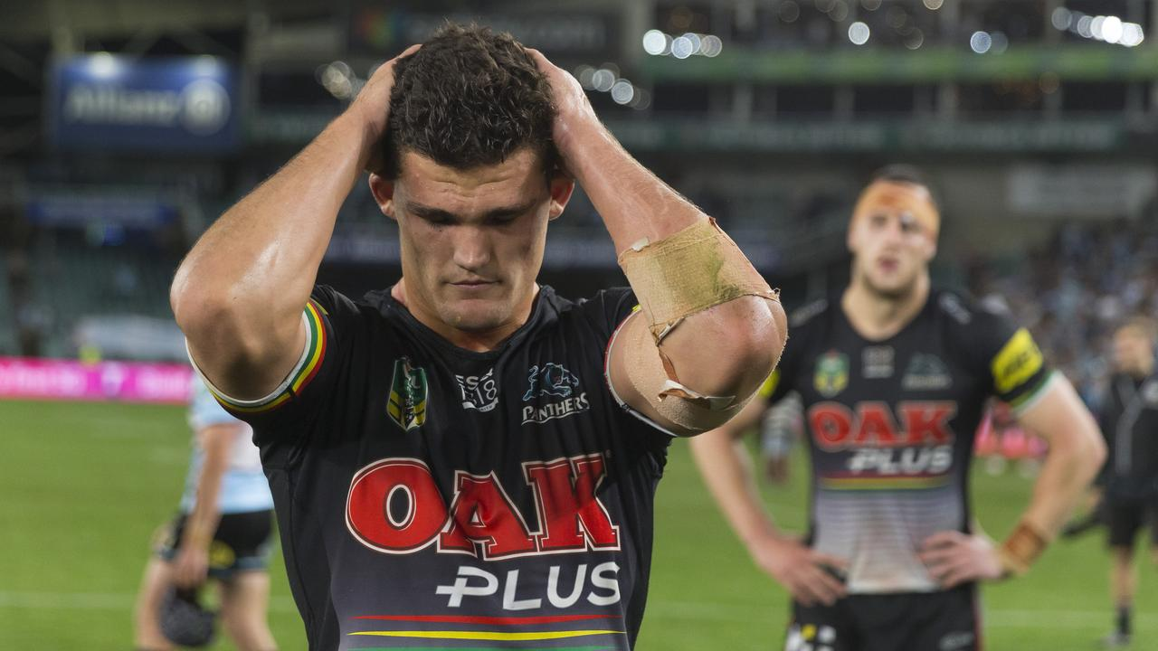 James Tamou says Nathan Cleary has been quiet at training while keeping his head down and focusing on what's ahead.