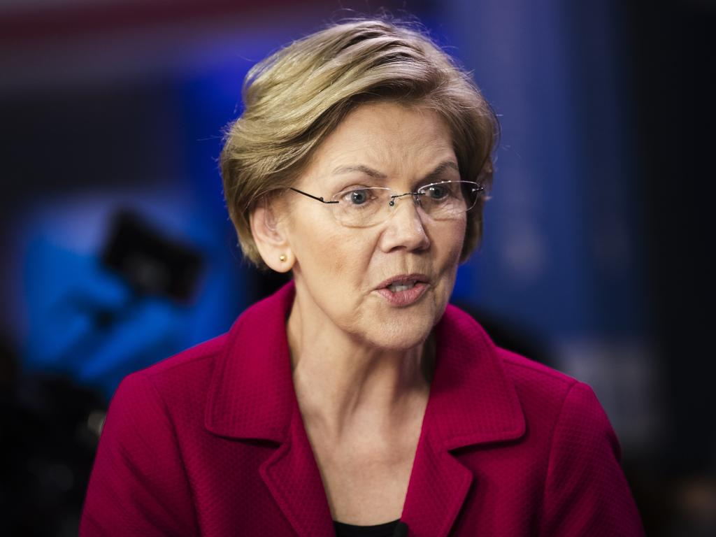 After an overwhelming lack of support, Warren grieved not only for herself but the future women of America. Picture: AP/Matt Rourke