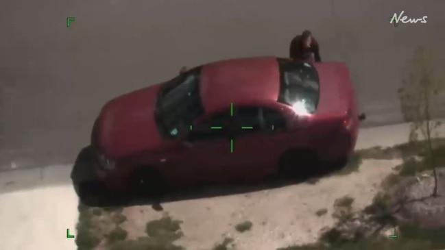 Watch a drug-fuelled police chase through Bendigo's suburbs