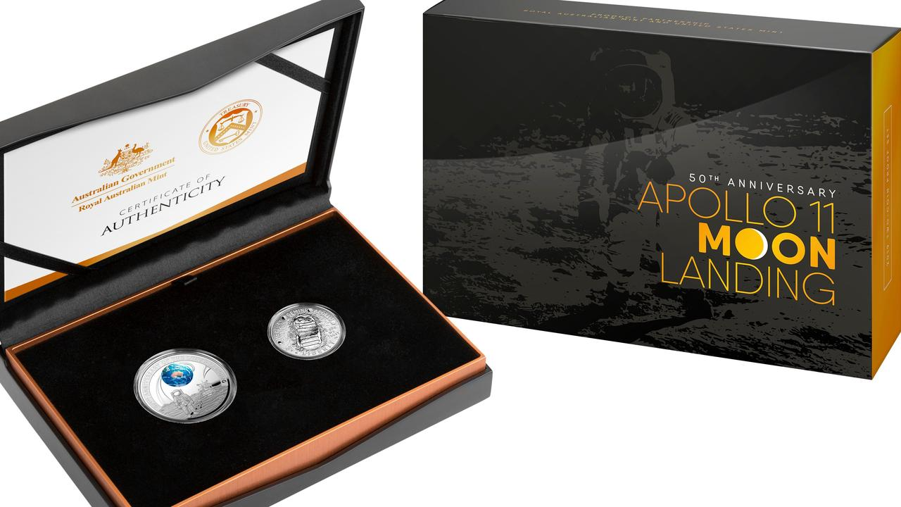 The two coin set.