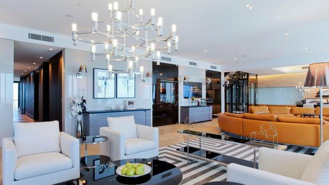 3250/23 Ferny Ave, Surfers Paradise was Qld's top sale last week.