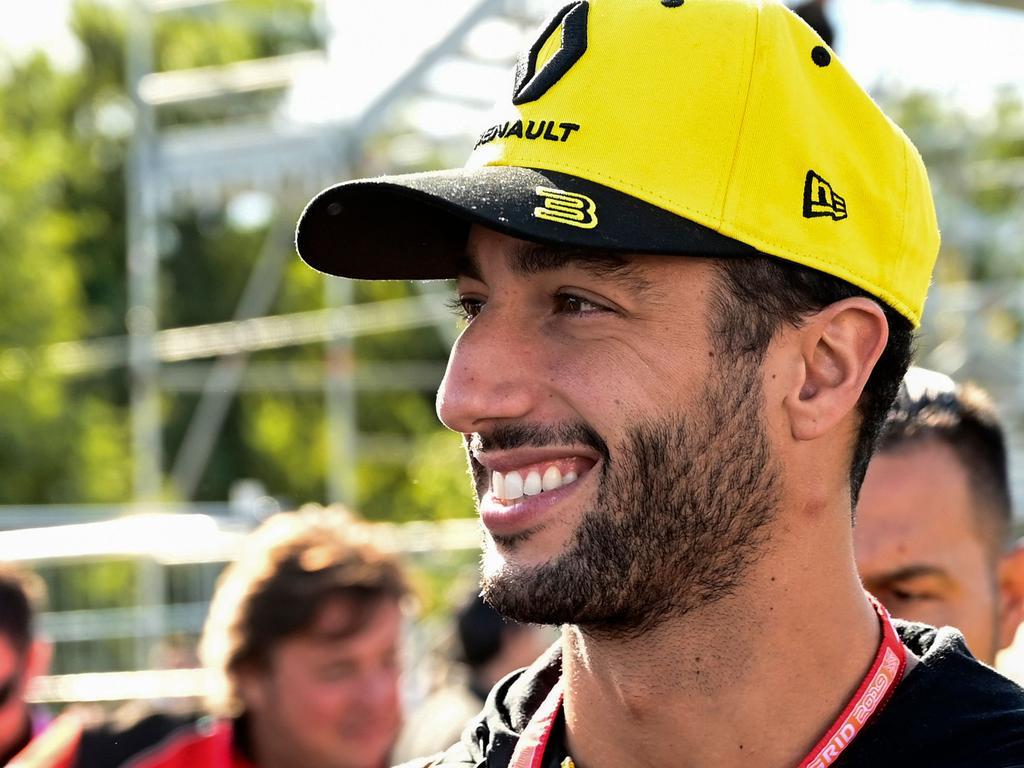 Daniel Ricciardo had a great weekend.