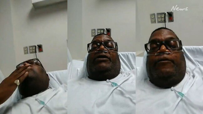 Pastor Ronnie Hampton speaks from hospital bed before dying from COVID-19
