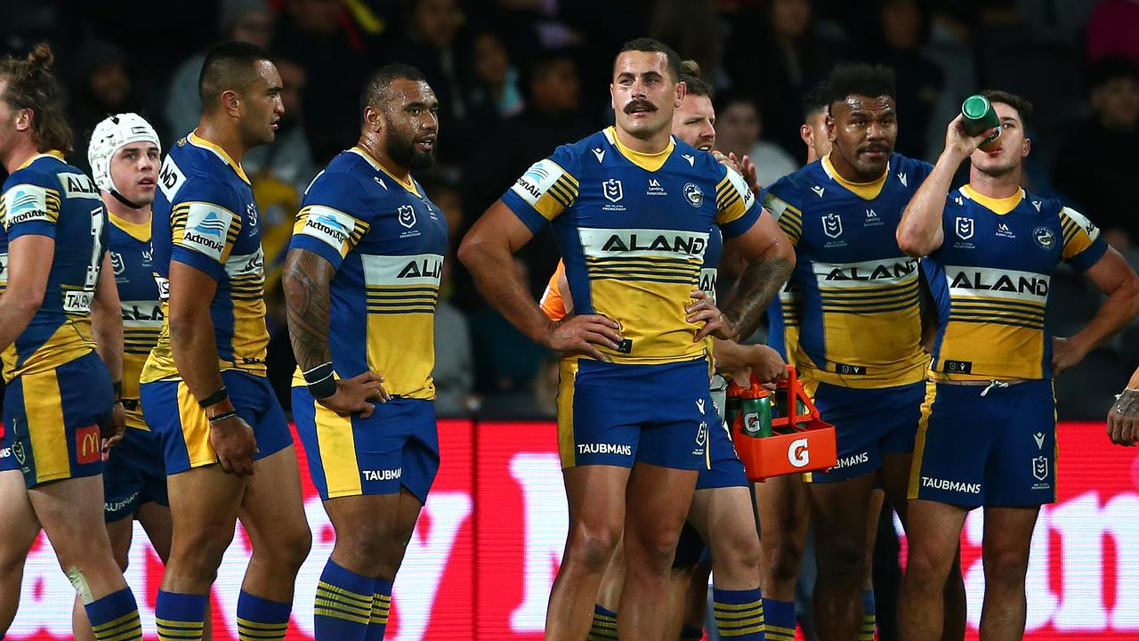 The Parramatta Eels were badly exposed by the Dragons.