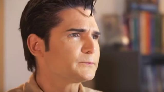 Corey Feldman in his new documentary about paedophiles in Hollywood.