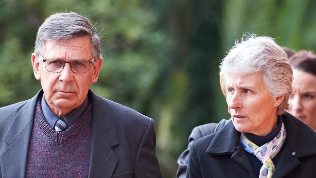 Rob and Merrilyn Scott, parents of murdered Leeton schoolteacher Stephanie Scott. Picture: Michael Frogley