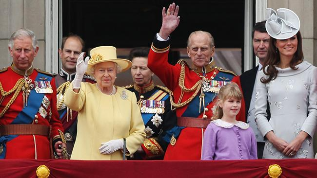 The British Royal Family in 99 seconds