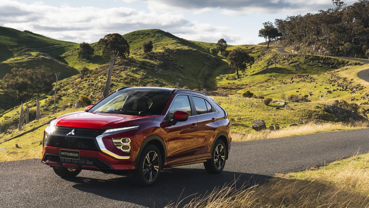 The Eclipse Cross is more style focused than the slightly smaller ASX SUV.