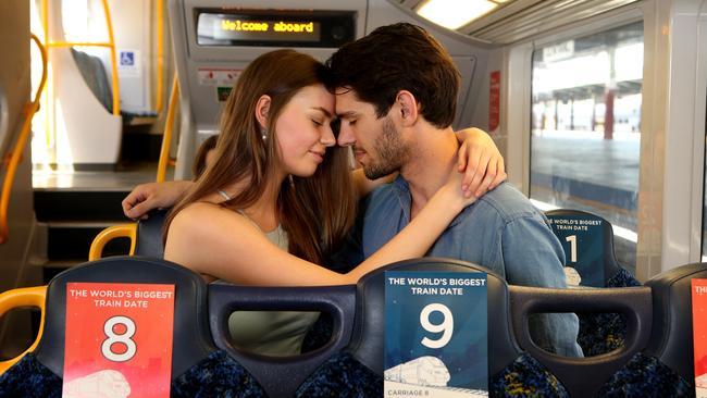 City Swoon arranged a huge train date in Sydney a few years ago.