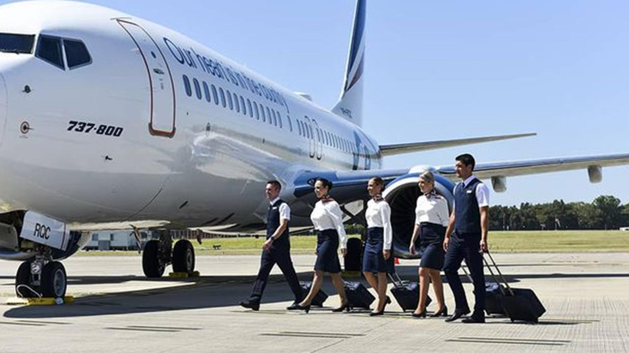 Rex will soon operate Sydney to Canberra flights, ending Qantas' monopoly on the route. Picture: Rex Airlines