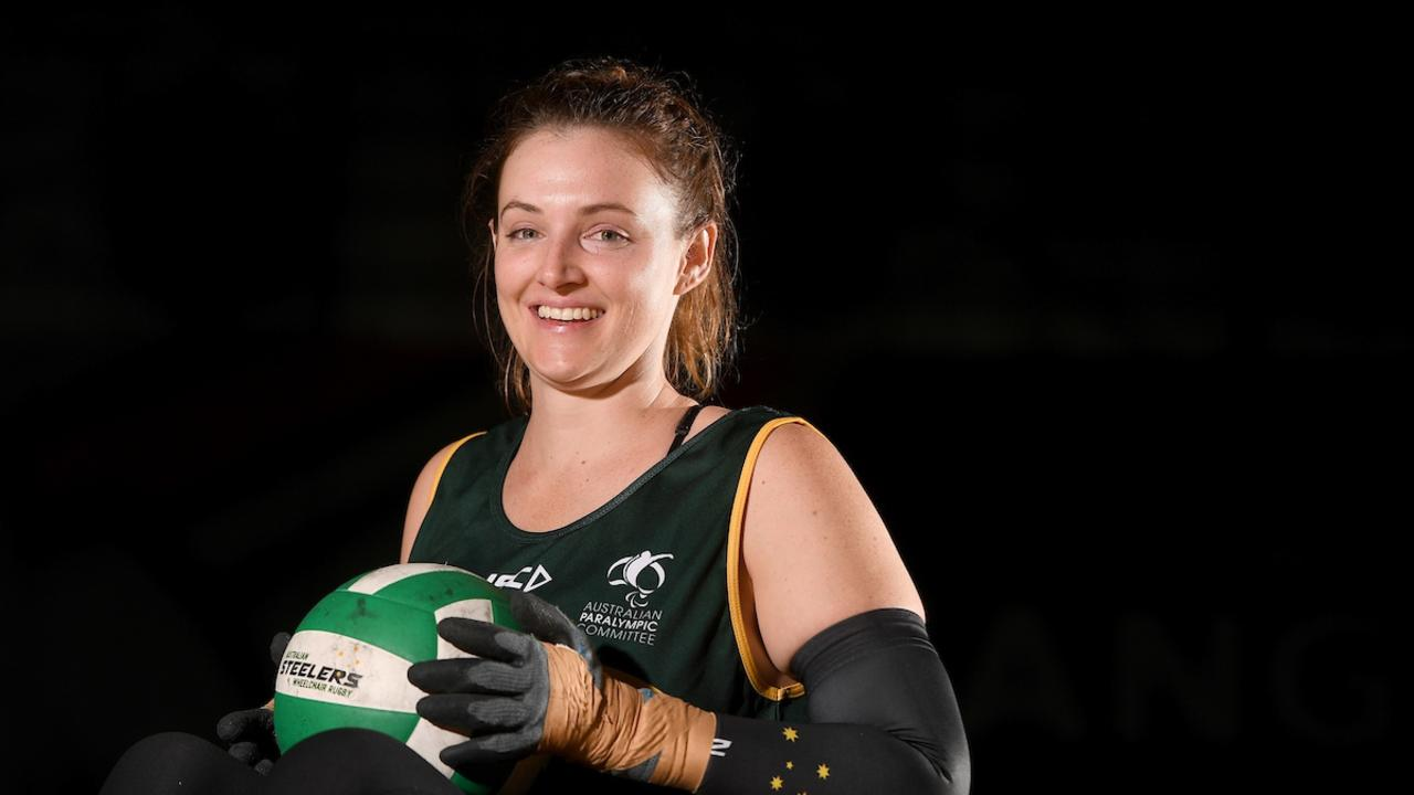 Shae Graham hopes to compete in Tokyo. Picture: Paralympics Australia.