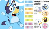 You can now have a Bluey themed party