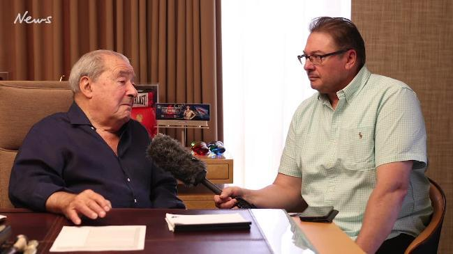 Bob Arum talks about Jeff Horn ahead of Sunday's fight