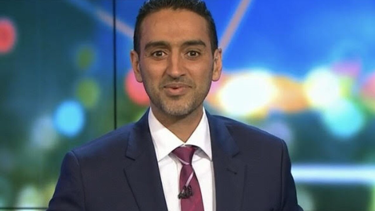 Waleed Aly has cleared up the discrepancies about aged-care residents having access to the vaccine. Picture: Channel 10