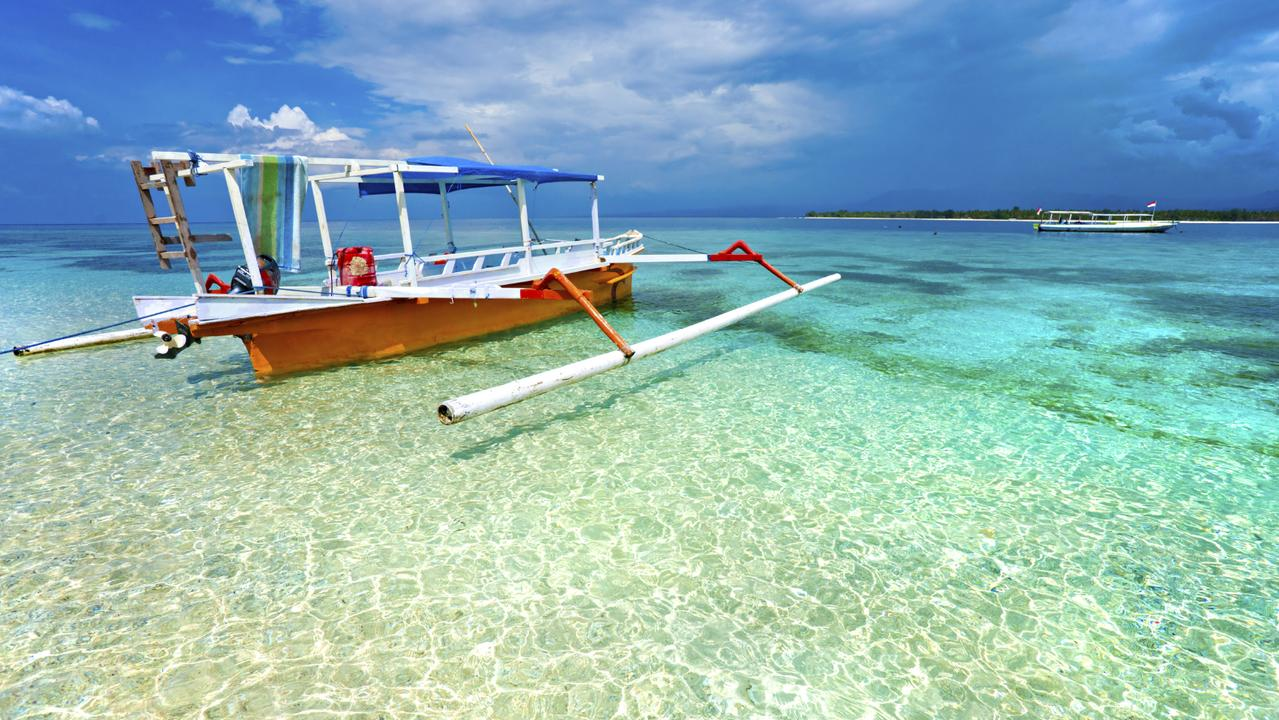 The Gili islands are off the coast of Lombok. Picture: iStock