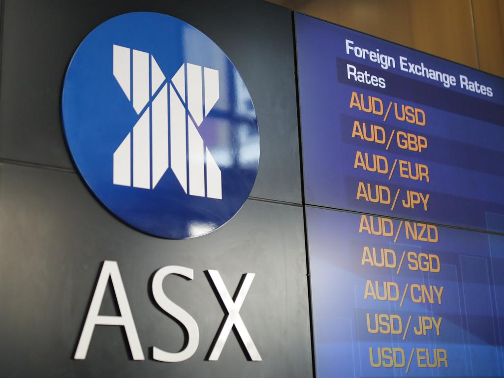SYDNEY, AUSTRALIA - NewsWire Photos MARCH 09, 2021 - The Australian Securities Exchange (ASX) display in Sydney. Picture: NCA NewsWire / Christian Gilles