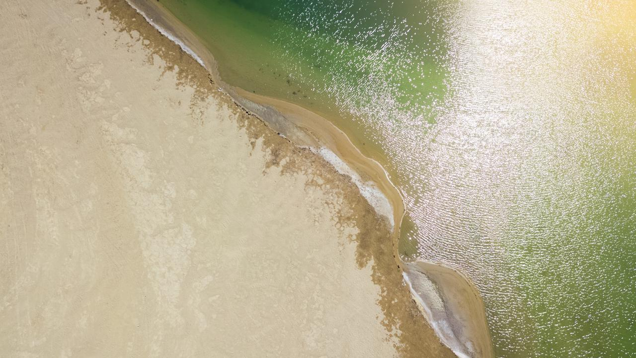 The Murray River is home to about 100 inland beaches. Picture: Getty Images