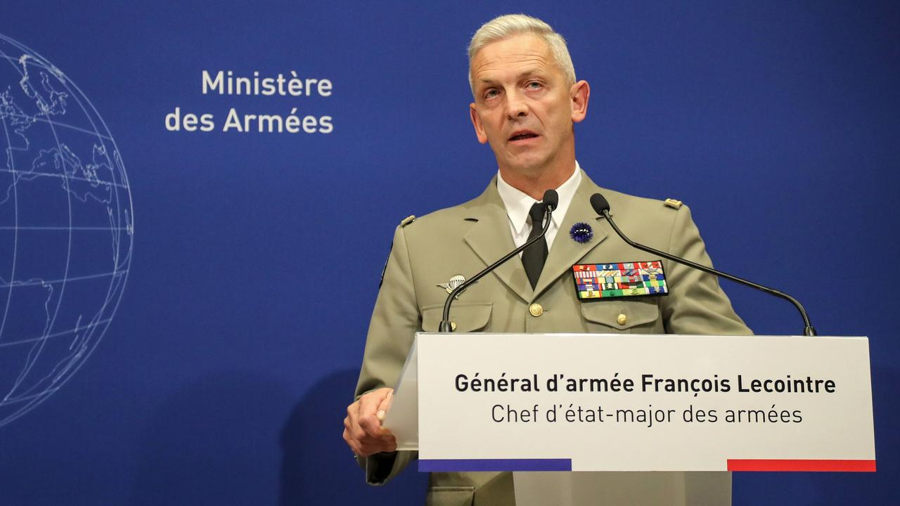 The timing of the operation crucial, according to General Lecointre, triggered by a tip off that the hostages would be handed over to militant groups. Picture: Jacques Demarthon/AFP