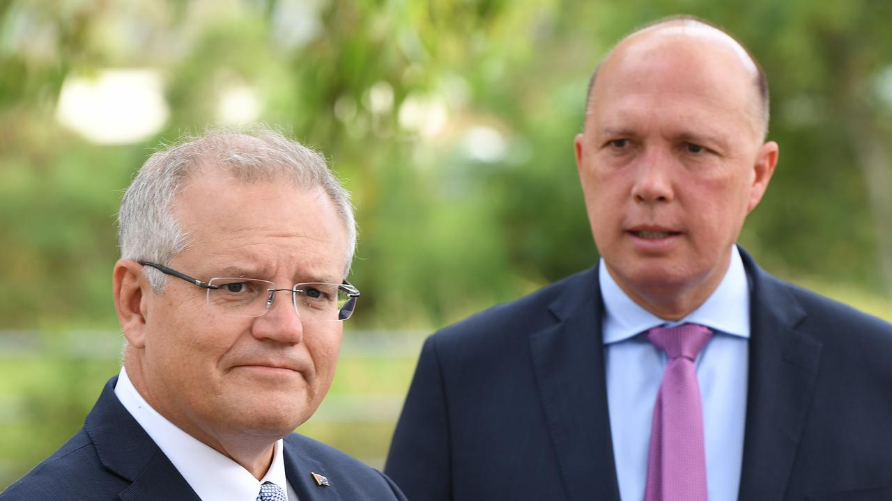 Peter Dutton, who led the ousting of Malcolm Turnbull, can expect to be lashed in the former PM's upcoming memoir. Picture: AAP