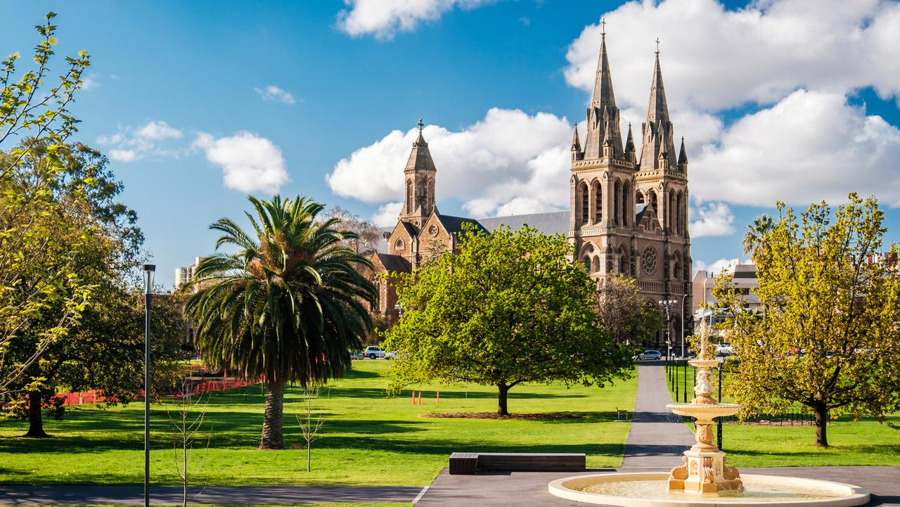 Adelaide has always been known as the 'City of Churches'.