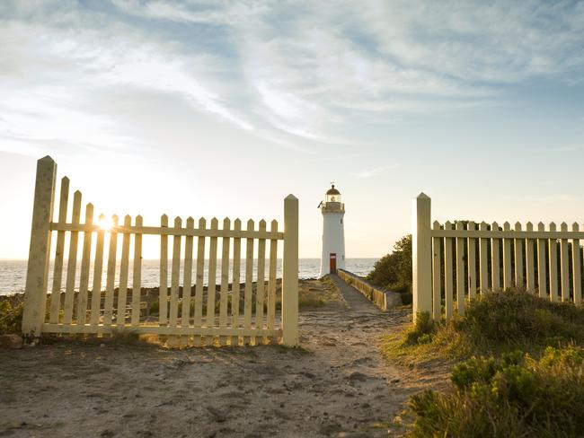 "6. PORT FAIRY, VIC  WHY IT WON: ""Delivering old-world charm with a modern twist, Port Fairy sits on the doorstep of the famed Great Ocean Road, boasting a rich history, excellent restaurants and a charming seaside community."" Picture: Wotif"