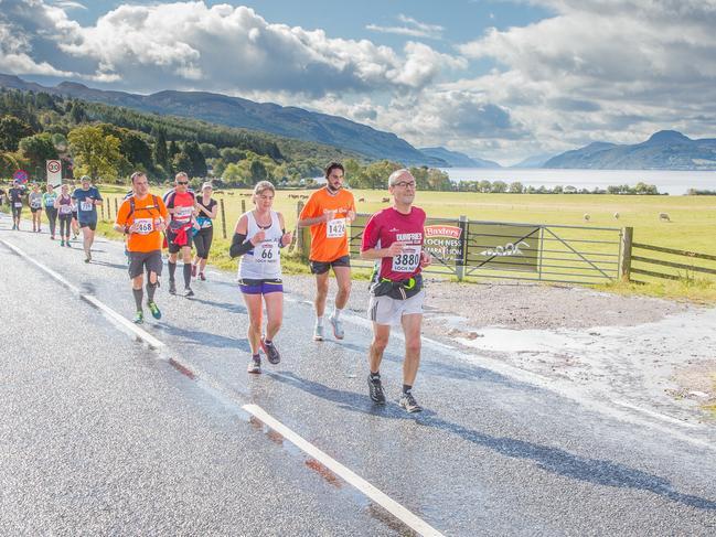 WHEN: October 6, 2019 ENTRY: from £57 (about $100)   lochnessmarathon.com