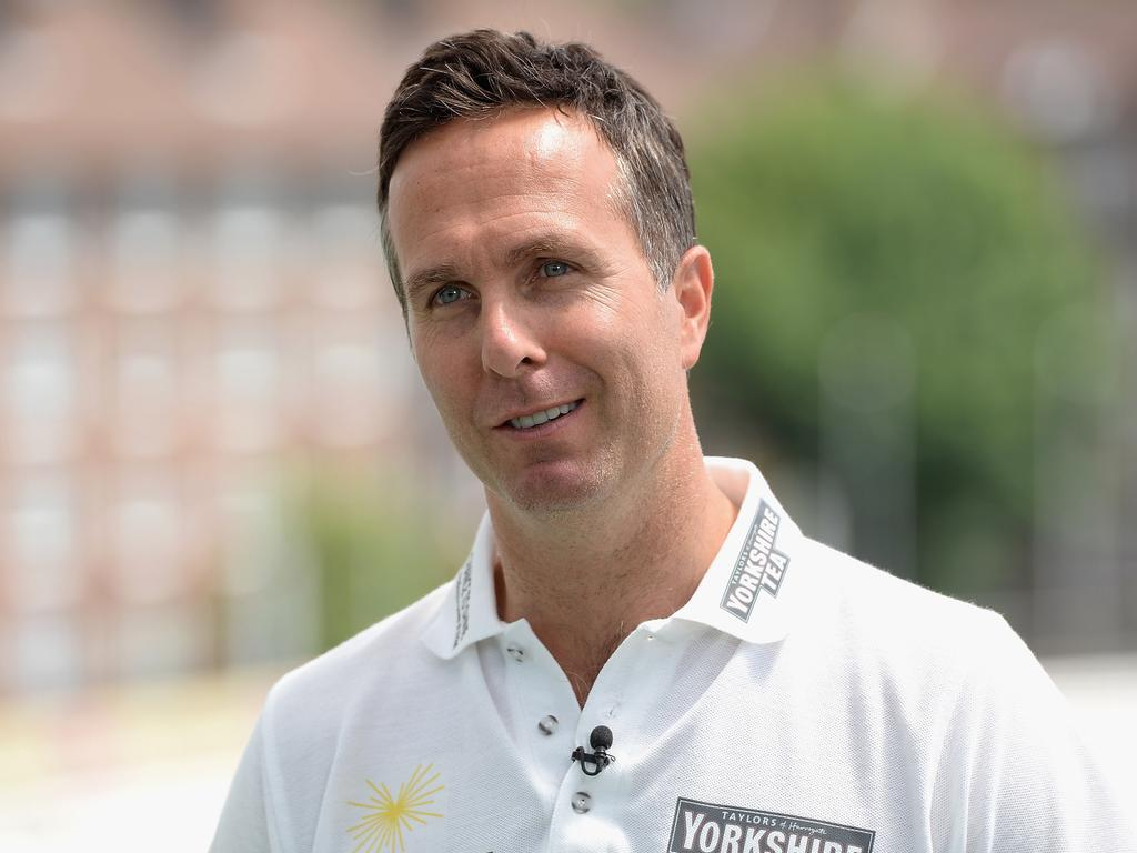 Michael Vaughan has unleashed on the Aussies.