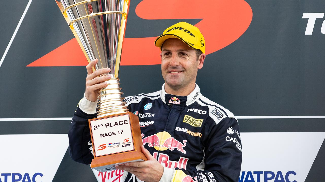Jamie Whincup will join the Supercars Commission. Picture: Daniel Kalisz