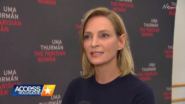 Uma Thurman 'too angry' to speak about Hollywood sexual misconduct allegations