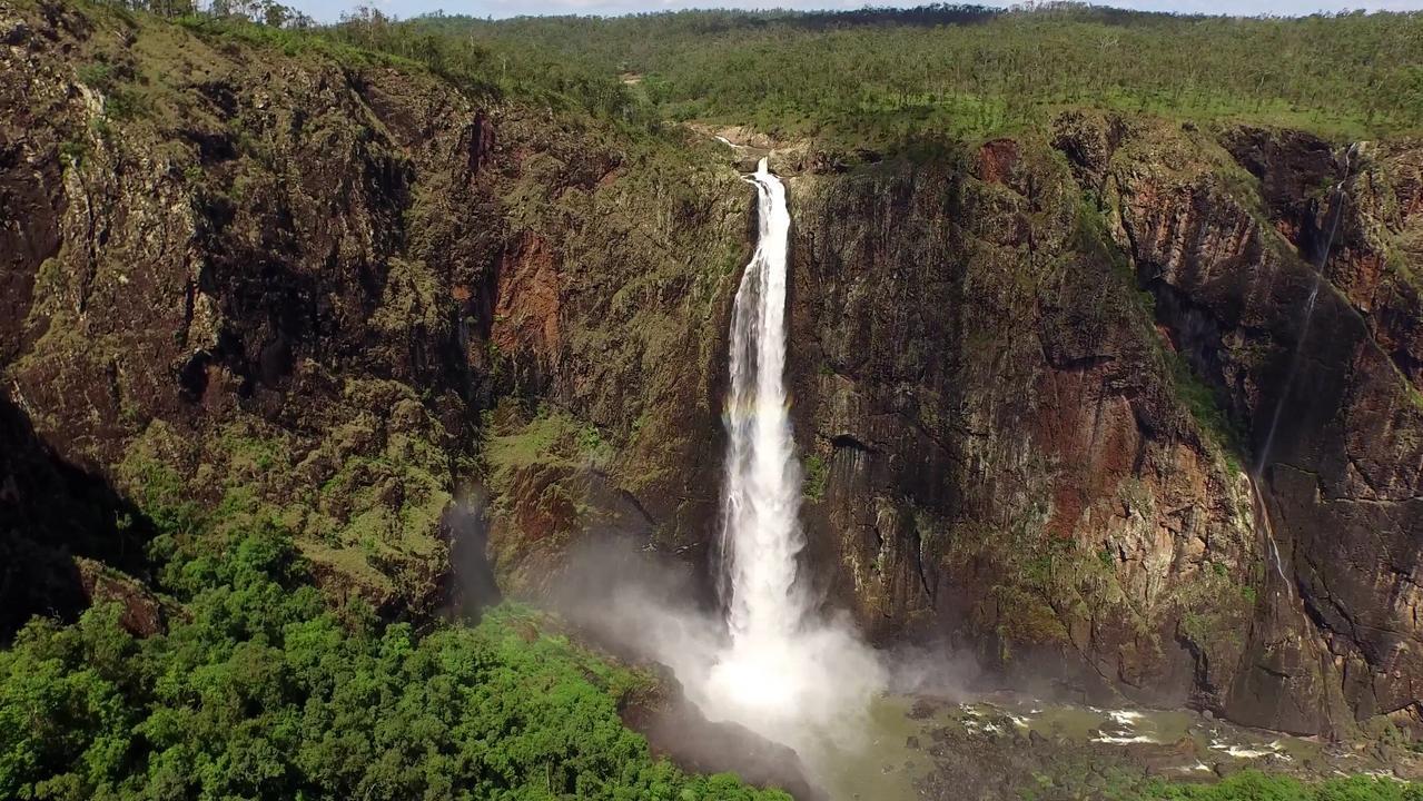 Wallaman Falls near Ingham.