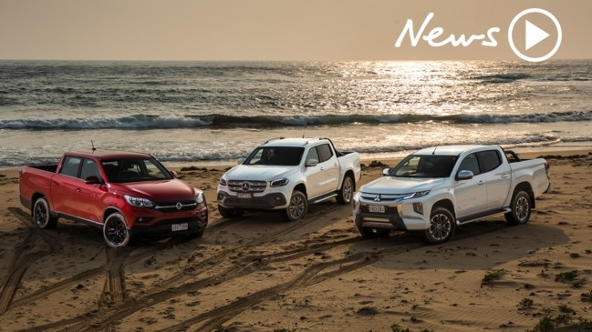 Car of the Year: Mitsubishi Triton v Mercedes X-Class v SsangYong Musso