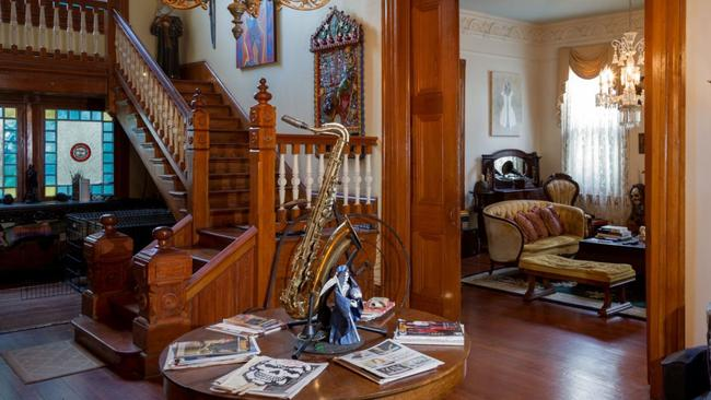 Inside the Parks-Bowman Mansion in New Orleans, Louisiana. Picture: Airbnb