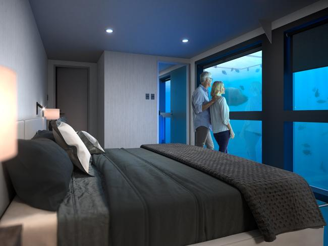 BEST FOR NATURE: REEFSUITES, QUEENSLAND This year is all about unique travel and waking up surrounded by one of the world's best-known and most stunning natural wonders is one that's going to be hard to top. In an Australian first, two private, underwater suites – complete with floor-to-ceiling windows – are available to book, suspended below a floating pontoon on the Great Barrier Reef.