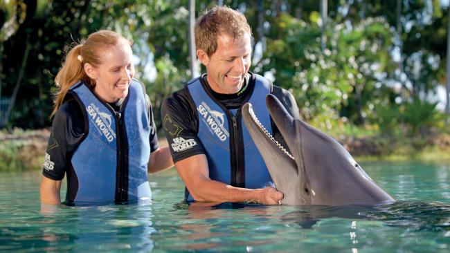 3/8 Sea World, Gold CoastThis massive marine park is famous for its signature animal shows and close encounters, like swimming with dolphins and seals. But it's also home to heaps of rides and roller coasters, and even an onsite family resort. Picture: Tourism and Events Queensland