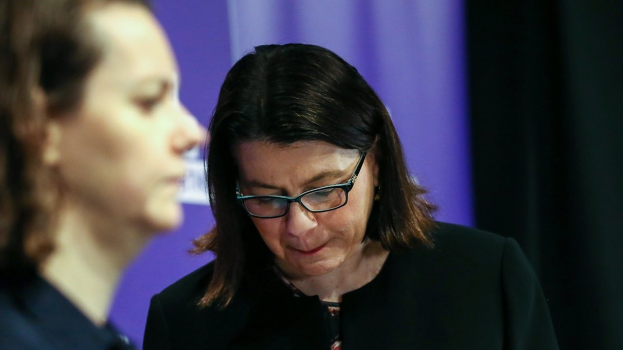 Victoria's health minister issues emotional apology over her COVID response