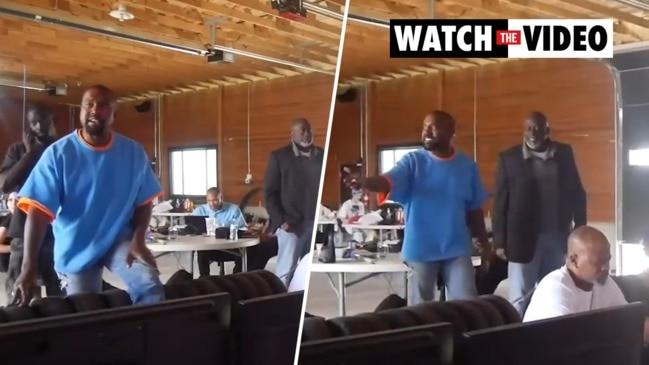 Kanye West meltdown caught on camera