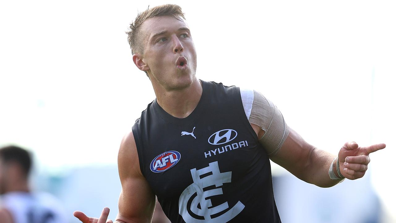 Patrick Cripps is in the free agency list for 2020. Photo: Chris Hyde/Getty Images.