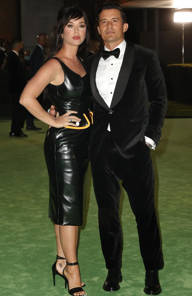 Katy Perry and Orlando Bloom. Picture: Frazer Harrison/Getty Images