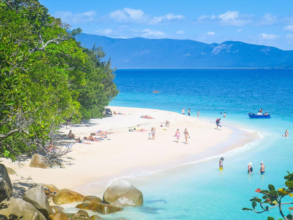 Glorious Nudey Beach on Fitzroy Island. Picture: iStock