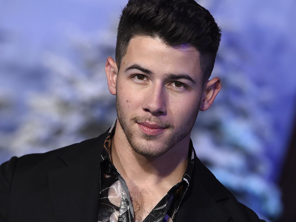 Nick Jonas is back as Seaplane. Picture: Jordan Strauss/Invision/AP.