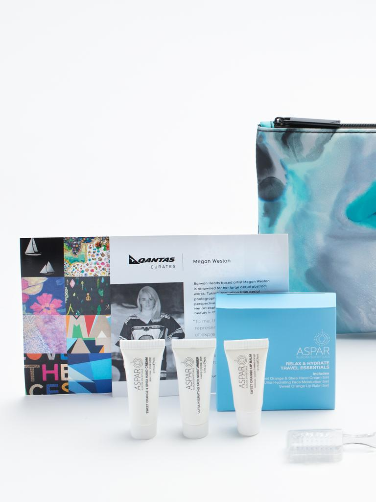 The idea came as the airline has an oversupply of amenity kits and snacks because of a reduced number of flights and passengers.