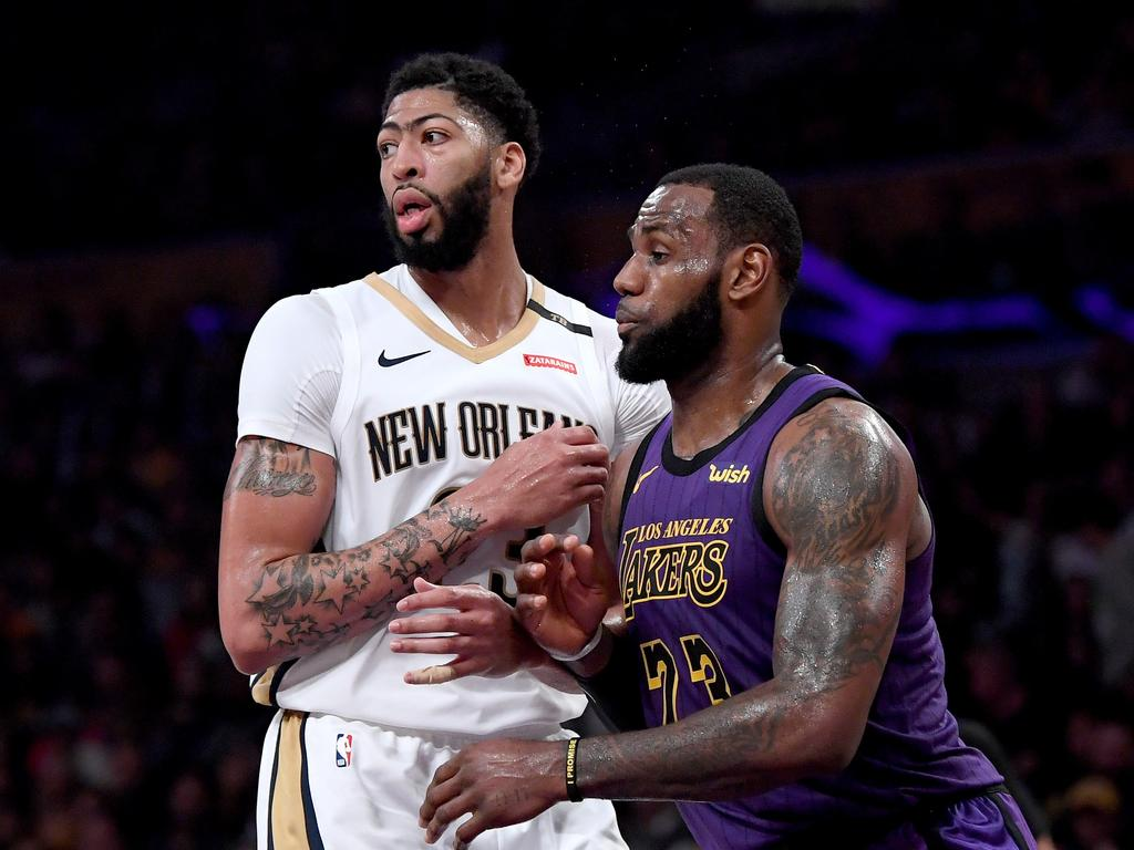 The move of Anthony Davis to the Lakers was a divisive move.